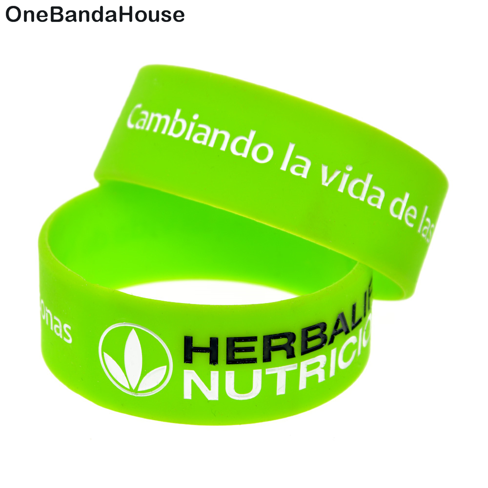 The Latest Fashion Strong-Willed 3 Wristbands Herbalife Healthy Active Lifestyle free Shipping
