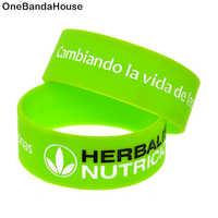 OneBandaHouse 1 pieza de una pulgada de ancho cambia la vida de las personas pulsera de silicona decoración brazalete de Fitness brazalete deportivo