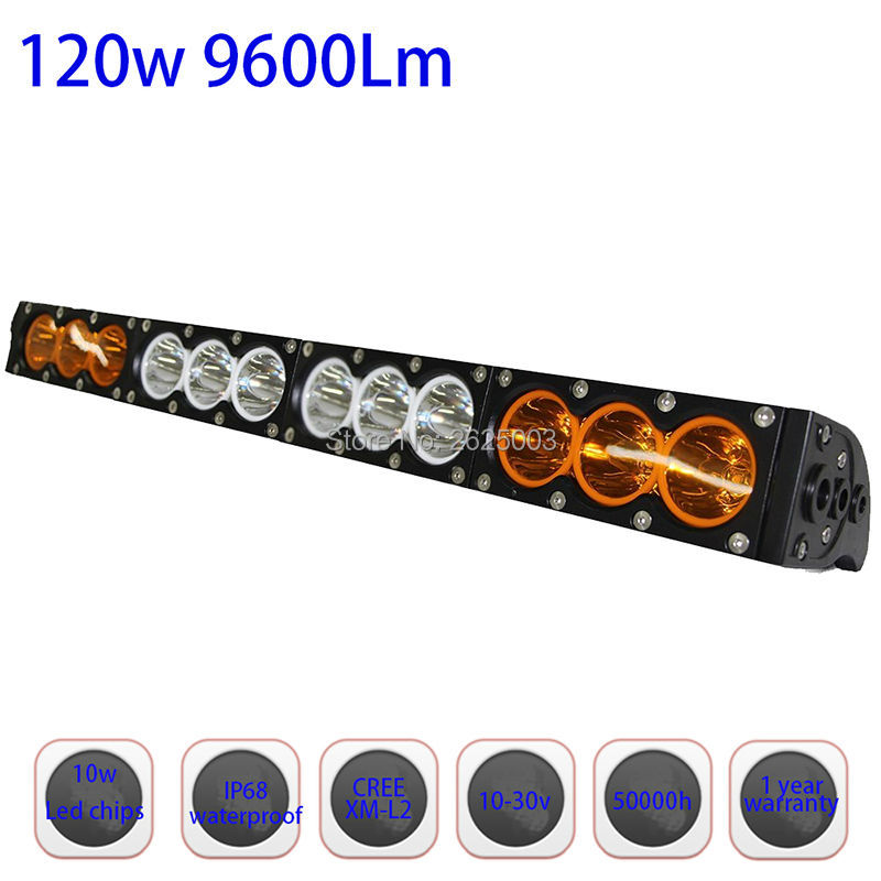 120w 22inch Dual Row White Amber Single Staright Row Led Driving Led Bar with Cree 10W High Light Output for Offroad Truck Auto lole брюки lsw1351 motion staright pants темно серый