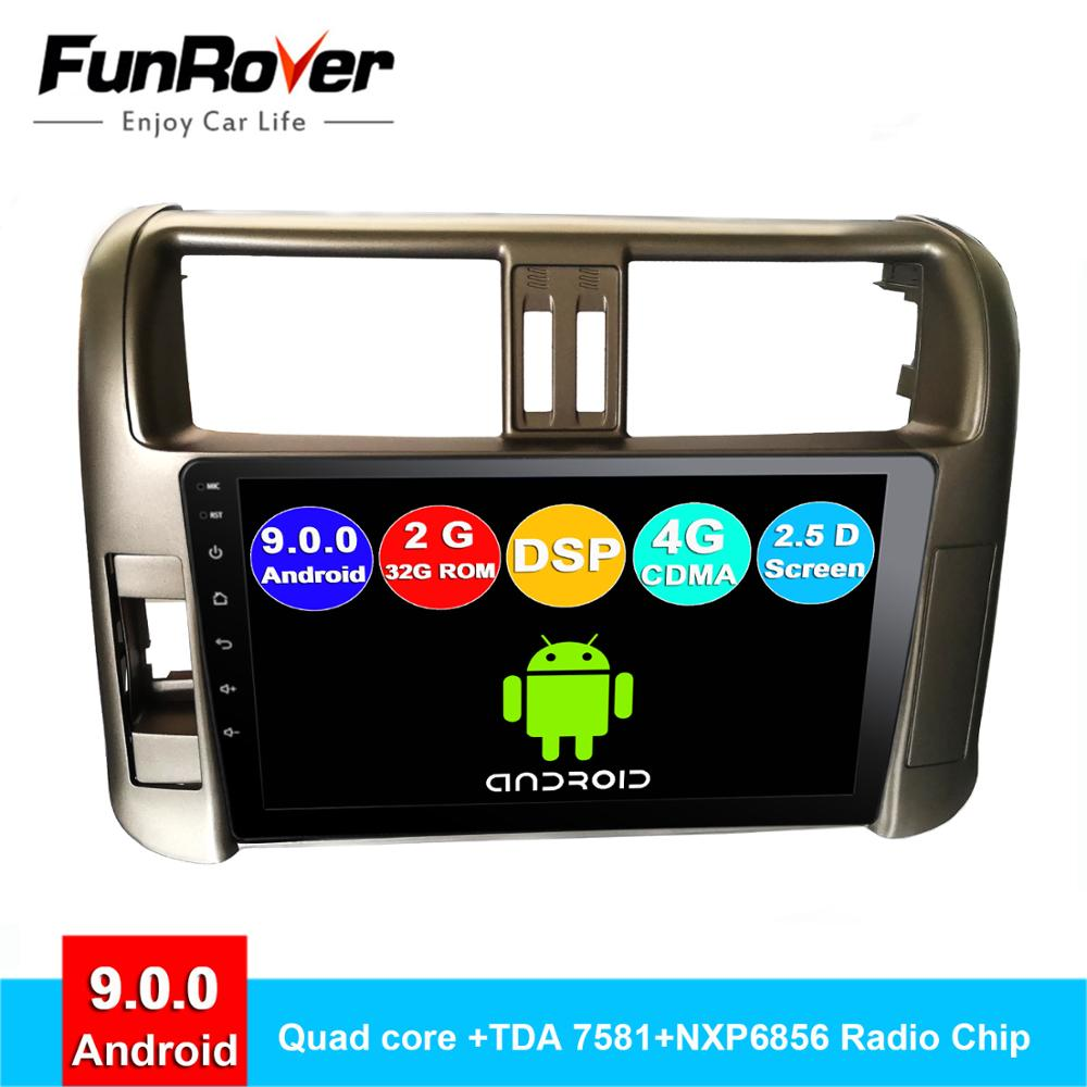 FUNROVER android 9.0 2 din autoradio pour Haval Hover Great Wall H5 H3 2010-2013 gps navigation navi audio 2.5D DSP