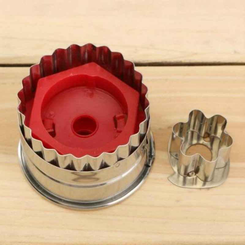 3D Scenario Stainless Steel Cookie Cutter Set Gingerbread Cake Biscuit Mould Fondant Cutter 6