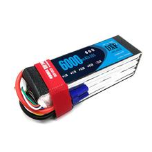 DXF Lipo 22.2V 6000mAh 50C Burst 100C 6S Lipo Li-Polymer Battery Bateria AKKU for RC Car Quadcopter Helicopter Airplane tcb rc drone lipo battery 4s 14 8v 2200mah 25c for rc airplane car helicopter akku 4s batteria cell free shipping