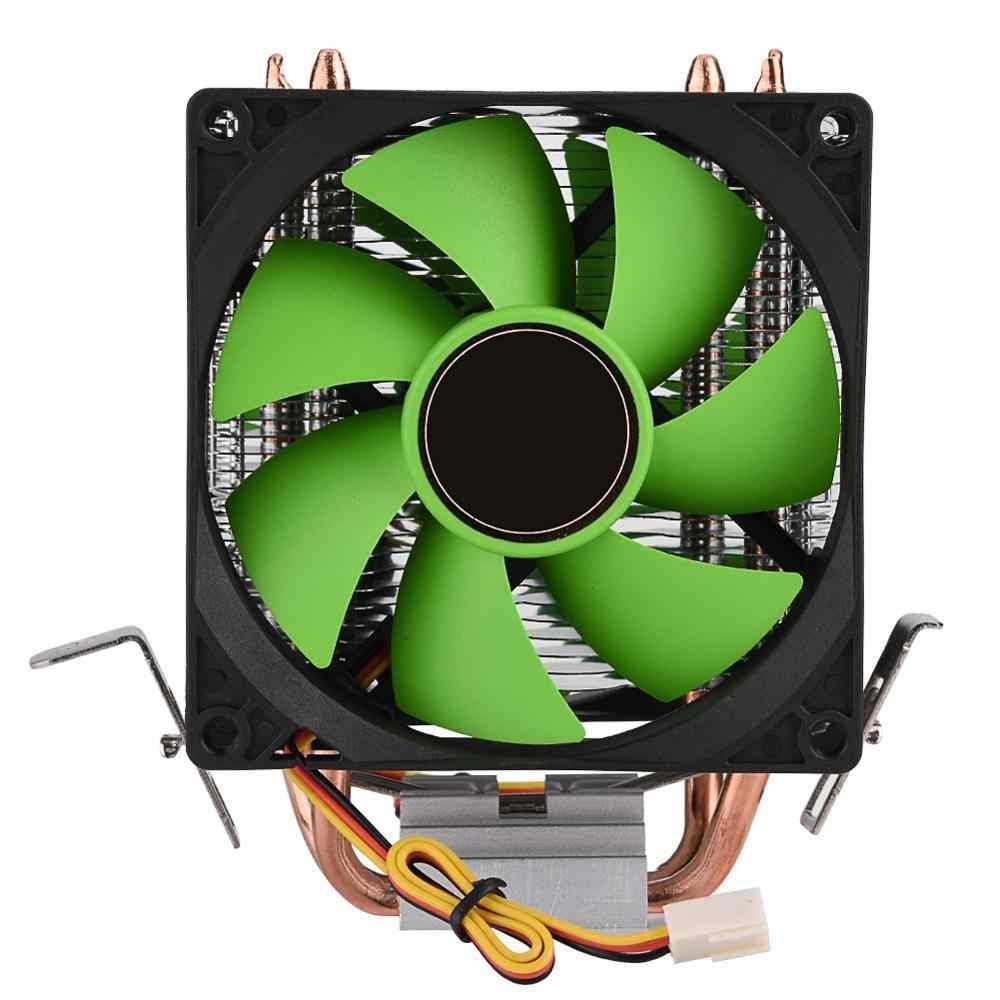 90 مللي متر 3Pin وحدة المعالجة المركزية برودة المبرد المشجعين هادئة ل إنتل LGA775/1156/1155 ل AMD AM2/AM2 +/AM3 الوجهين مروحة شحن مجاني CPU مروحة