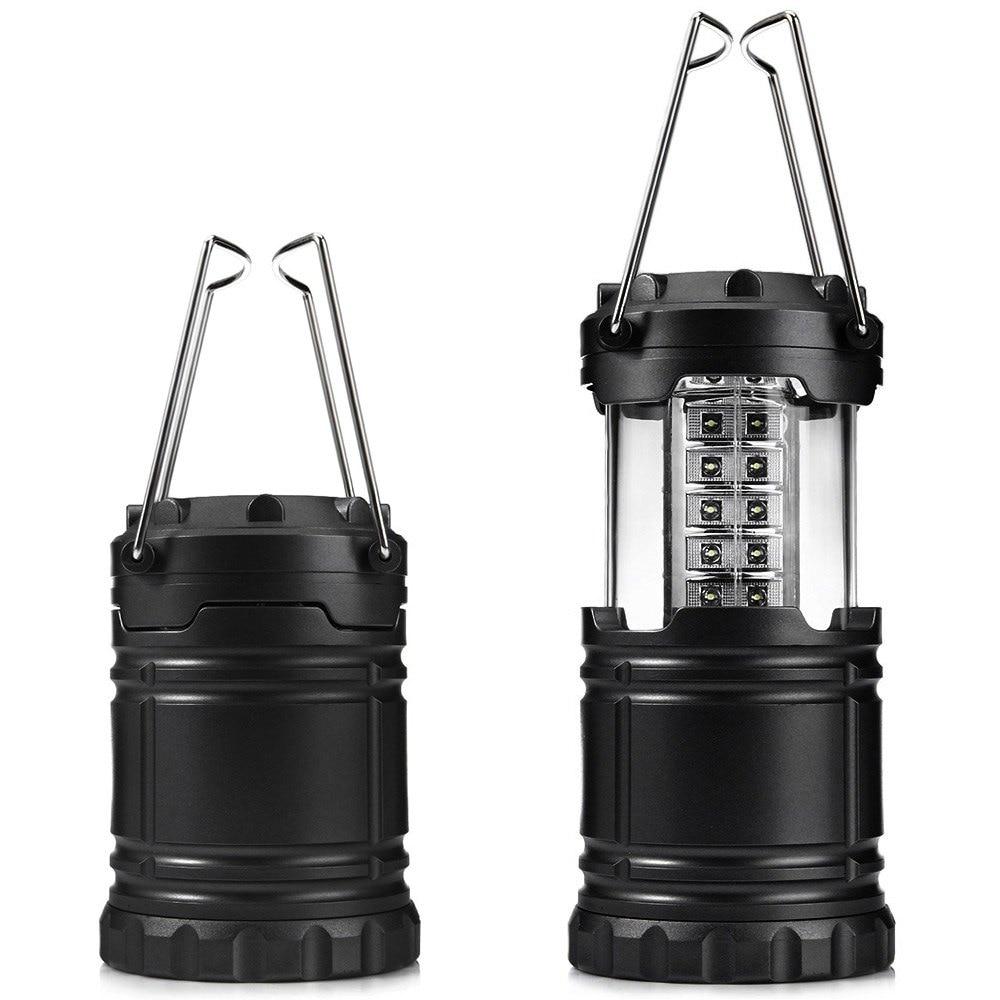 Ultra Bright 18 LED Light Fan Outdoor Camping Lantern Tent Lamp Night Light Lamp