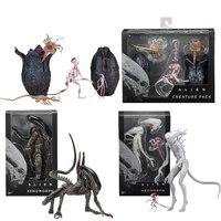 Movie AVP Aliens Vs Predator Figure Series Alien Covenant Xenomorph Neomorph Creature Pack PVC Action Figures