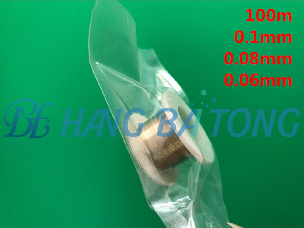 Precision 100m 100 Meter 0.1mm 0.08mm 0.06mm Steel Wire Fix Broken Lcd Display Glass Cutting Separating String Line