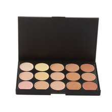 15 Color Concealer Neutral Makeup Eyeshadow Camouflage Facial Concealer Palette