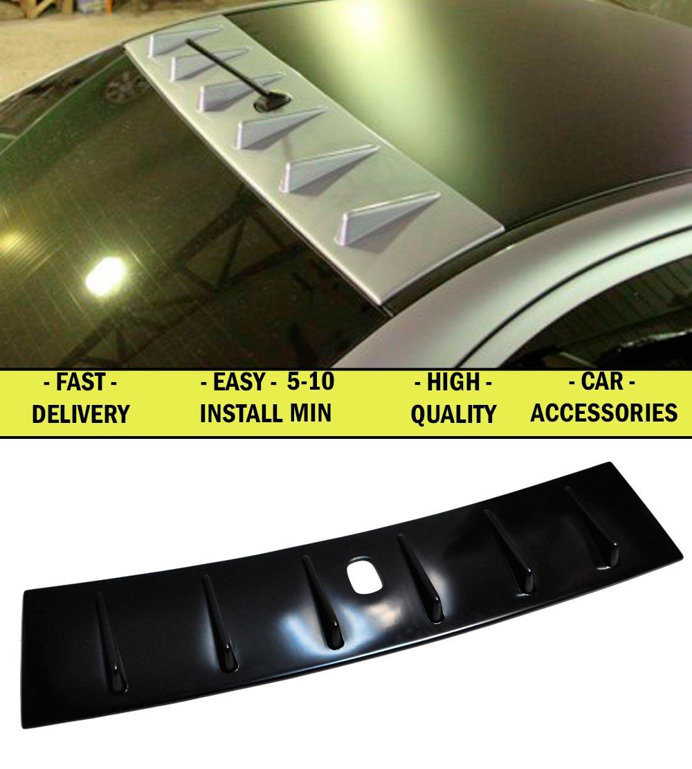Auvent pour Mitsubishi Lancer X 2007-2009-2010 ABS plastique décor sports styles voiture accessoires aérodynamique aile arrière voiture style