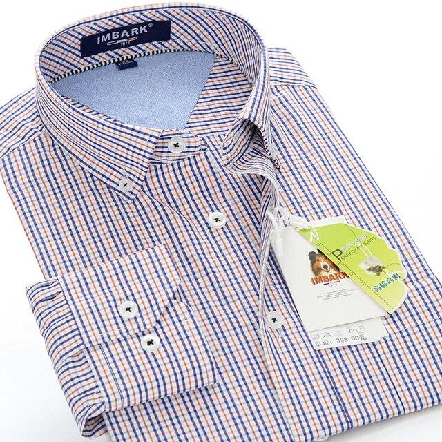 Hommes Plaid Hommes Vêtements Marque Mens Robe Chemises Chemise  Marque-vêtements très grand plus la 24b6428c1cd