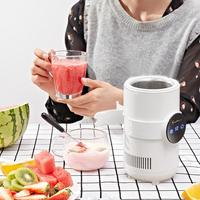 500ml Electric Refrigerator Instant Cooling Cups Fridge Cooler Heating Mug Adjustable Temperature LED Digital Display
