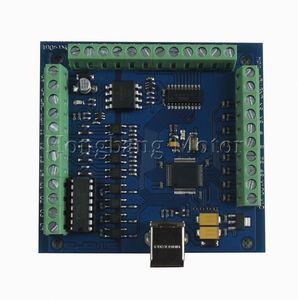 Image 2 - Hyongc cnc MACH3 usb 4 軸 100 125khz usbcnc 滑らかなステッピブレークアウト基板 cnc 彫刻 12 24 v