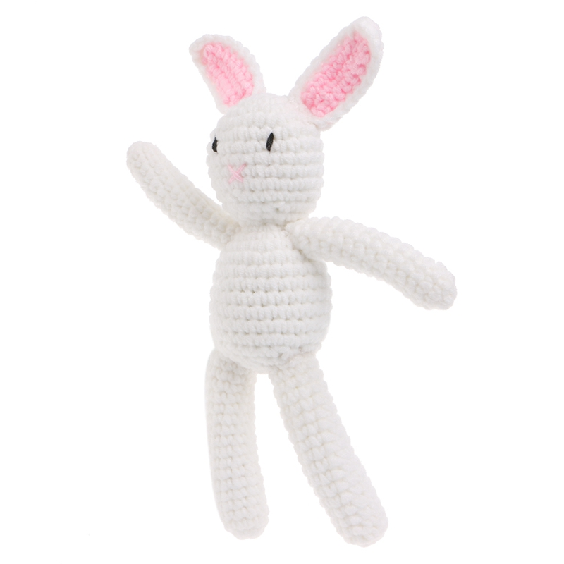 New 1Pc Newborn Baby Girls Boys Rabbit Photography Prop Photo Crochet Knit Toy Cute Gift ...