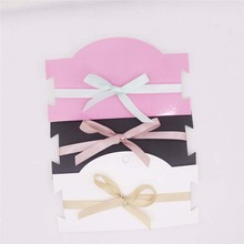 Free Shipping 200 pcs 6.3x3.54Hot  Pink Hair Clip Card Chock Necklace Display Accept Logo Custom Cost Extra