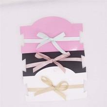 Free Shipping 200 pcs 6.3x3.54''Hot  Pink  Hair Clip   Card Chock Necklace Display Card  Accept Logo Custom Logo Cost Extra  цены онлайн