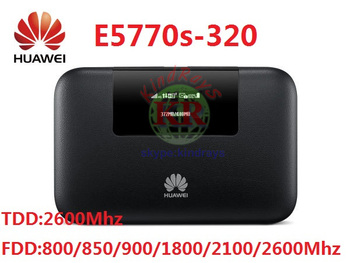 Unlocked E5770  E5770s-320 4G Mobile WiFi Pro Router 5200mAh power bank PK E8377 E5377 AC790s