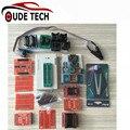Alta Qualidade Nova chegada Super Mini Pro TL866A EEPROM Programmer Set 21 pcs Adaptadores de Tomada por DHL