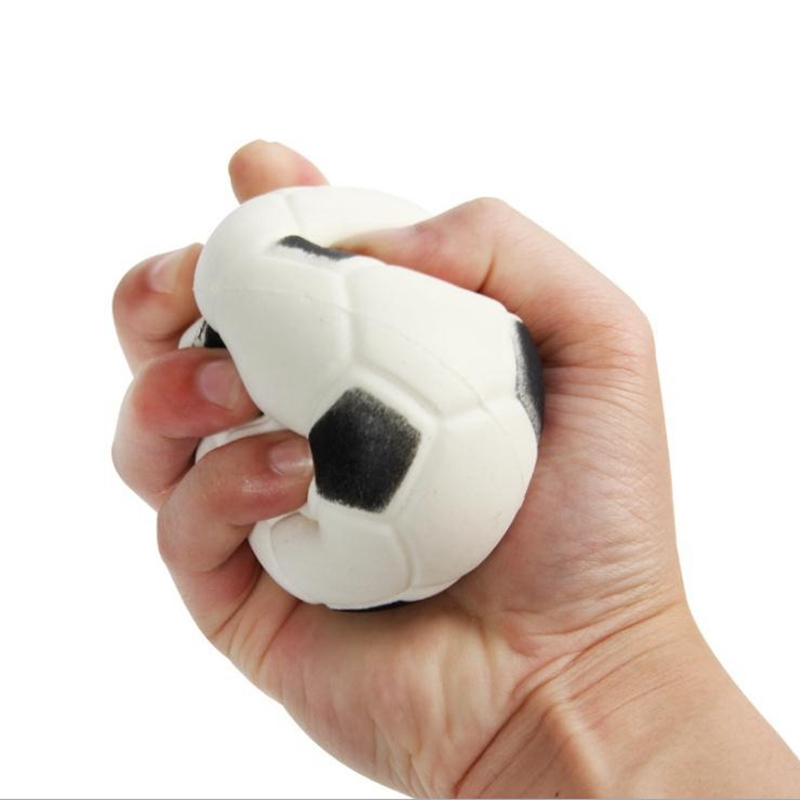 Squishy PU Football Ball Slow Rebound Simulation World Cup Venting Toy Brithday Gift Phone Straps Squeeze
