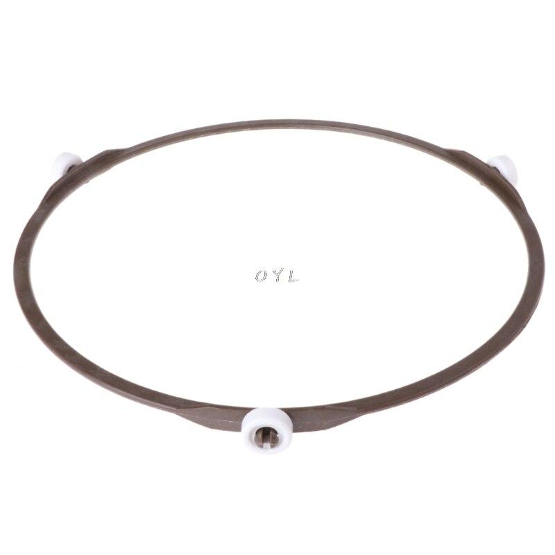 1,4 cm rad höhe Mikrowelle Teile Runde Förmigen Dreh Tablett Glas Platte Unterstützung 6,57 ''Innere