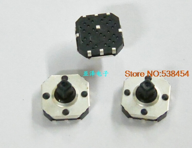 30PCS Imported multi function five way switch 8 * 8 * 5mm patch ...