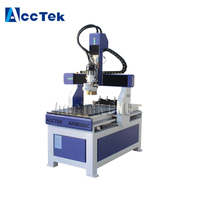 Cheap atc textile mini cnc router/cnc cutting machine/mini cnc pcb router 9060
