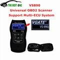 Низкая Цена Высокое Качество VGATE VS890 OBD2 Code Reader В. С. 890 Универсальный Диагностический Сканер VS-890 Полный Can-BUS Поддержка Новых автомобили