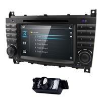 Car DVD radio 7 inch WIN CE for Mercedes Benz C Class W203 2004 2007 CLC W203 2008 2010 CLK W209 2005 2011 GPS Navi USB RDS BT