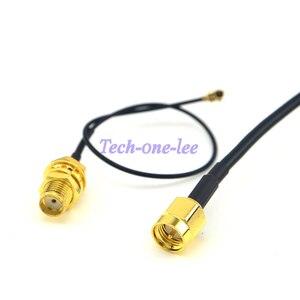 Антенна 433 МГц 5dbi разъем SMA Прямой Wifi для любительского радио + SMA Гнездовой переборки к Ufl./IPX кабель pigtail 1,13 15 см