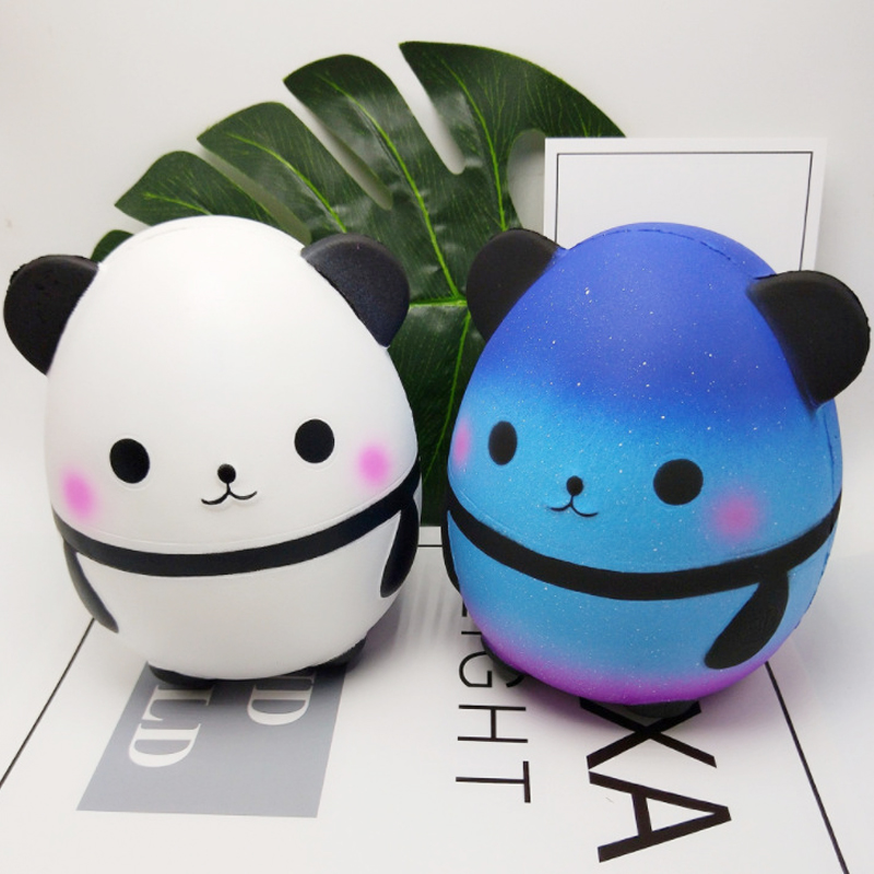 14.5CM Big Panda Squishy Toy Galaxy Squeeze Funny Chancellory Creativity Squishies Abreact Stress Reliever Squishi Anti-stress