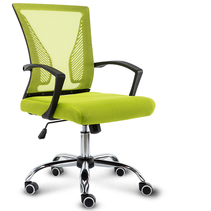 Simple Modern Portable Household Office Chair Breathable Mesh Cloth Leisure Computer Gaming Chair Multi Color Swivel Chair