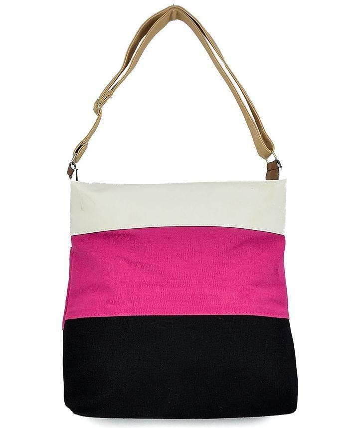 Women Messenger Bags Beach Canvas Fashion Stripes Handbags Ladies Shoulder Bag F