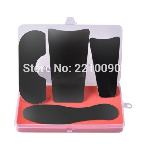 4pcs/1Pack Dental Clinic Stainless Steel Orthodontic Intraoral Photography Mirrors For Dentsit