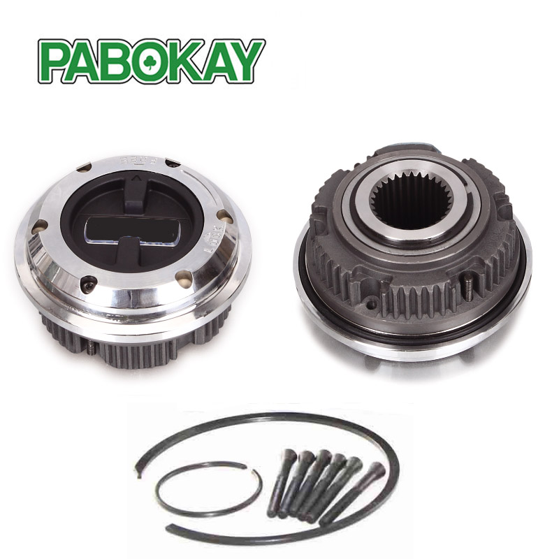 2 Pieces x Manual Locking Hub 30 Tooth for Ford Chevy Dodge Dana 50 60 F