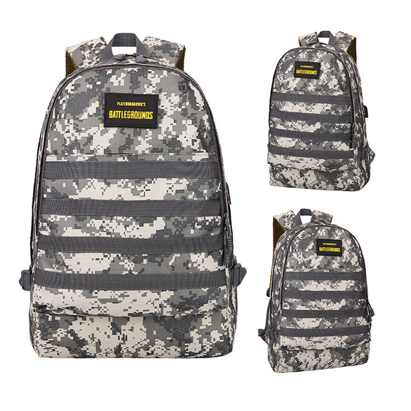Men PUBG Backpack Multifunction Waterproof Teenage School USB Charging Backpacks Women Travel Level 3 Bag Boys Mochila BP0247 (27)