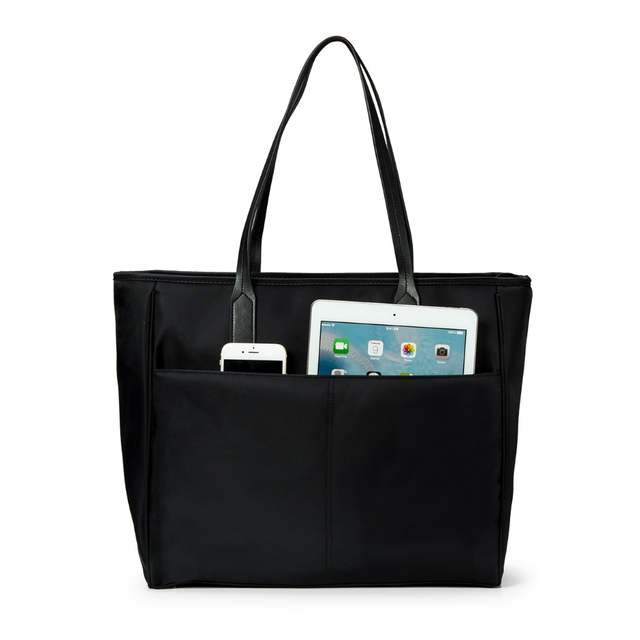 mommore Diaper Bag Large Daily Totes Handbag with Changing Pad for Baby  Black Nappy Bags Mother f6f46c97c0202