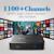 Linux IPTV Set Top Box Qhdtv Mag 250 Europeu 1100 + Espanhol Turco Português Europeu Países Baixos Melhores Canais de Media Player