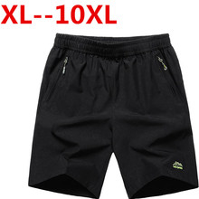Plus size 10XL 9XL 8XL 7XL 6XL 4XL Summer Men's Quick Dry Shorts 5XL 2017 Casual Men Beach Shorts Breathable Trouser Male Shorts