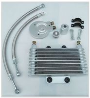 Motorcycle Oil Cooler Oil Engine Radiator SYSTEM FULL SET For LIFAN LF250 B QJIANG QJ250 J YAMAHA XV125 XV250