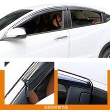 Para Honda HRV HR-V Vezel 2014 2015 2016 Janela Visor Ventilação Sombra Guarda Vento Defletores de Chuva Sol Toldos Abrigos Capa
