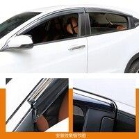 For Honda HRV HR V Vezel 2014 2015 2016 Window Visor Vent Shade Rain Sun