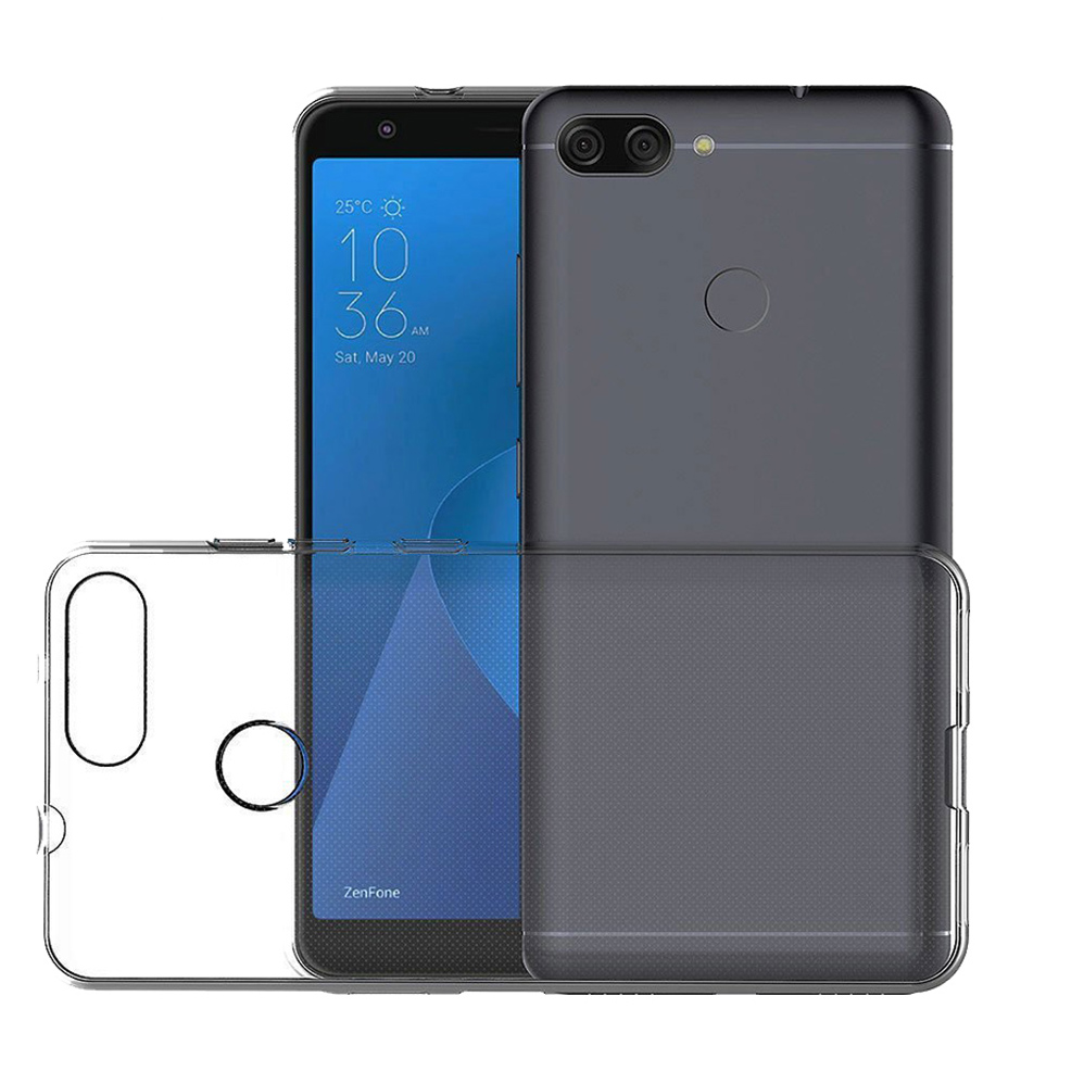 For Asus Zenfone Max Plus M1 ZB570TL Clear Soft TPU Case Crystal Slim Anti Slip Case Back Protector Cover Shockproof for ASUS