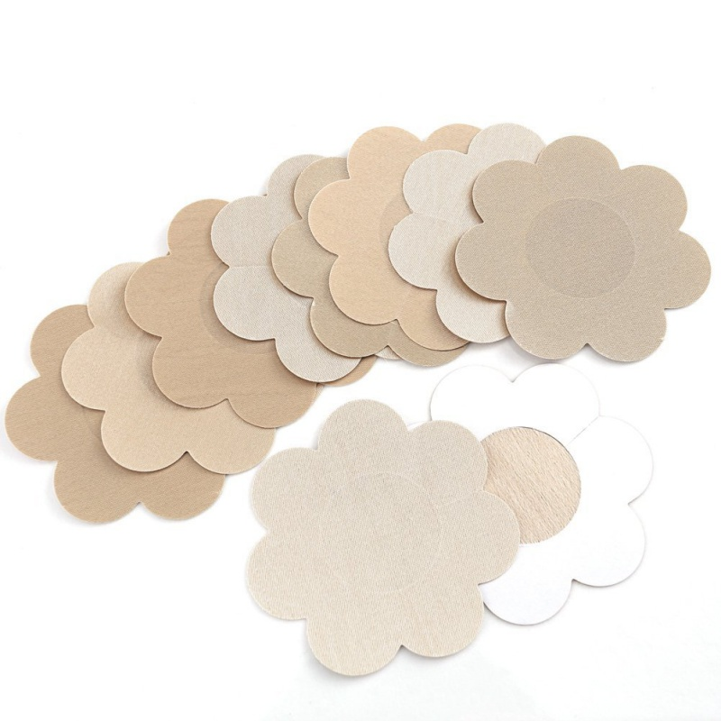Women Breast Nipple Pasties Pads Covers Bra Silicone Self Adhesive Reusable Invisible Nubra Pad