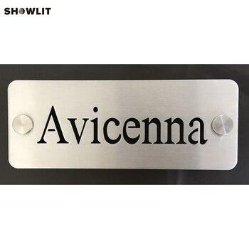 Custom Made Nomor Rumah Plakat