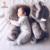 Automotivo KAMIMI 5 Cor Elefante Macio Sono Do Bebê Travesseiro Do Bebê berço Dobrável Cama de Bebê Almofada Do Assento de Carro Crianças Do Quarto Da Cama conjunto