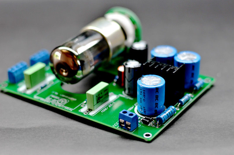Douk Audio 6N8P Vacuum Valve Tube Pre-Amplifier Stereo HiFi Preamp Board 2016 lastest douk audio vacuum 6j9 tube headphone amplifier stereo