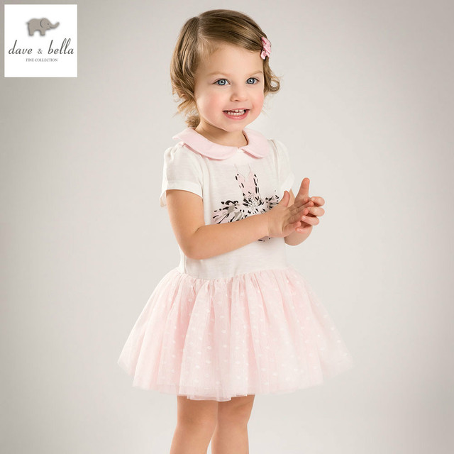 DB5234 dave bella verano de los bebés del vestido de princesa ...
