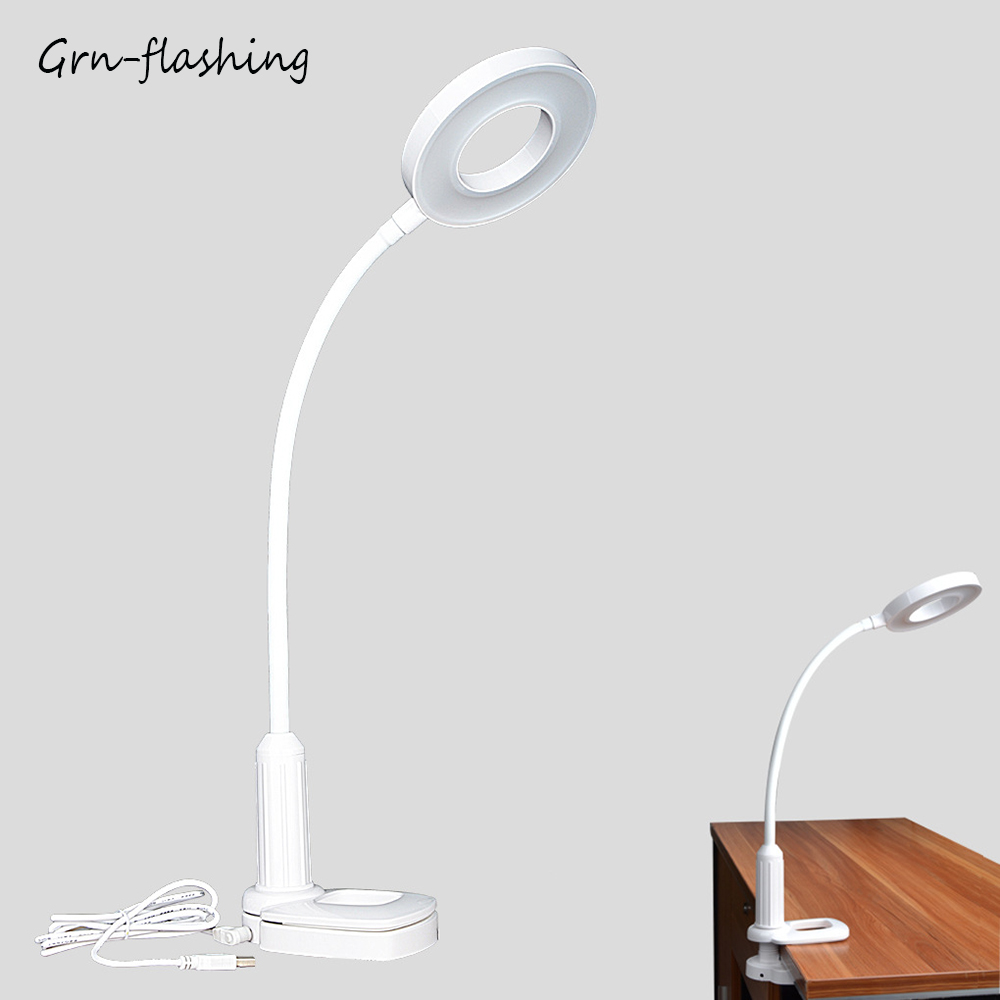 Stepless dimming table lamp DC5V 360 degree rotatable night light 12W 40 LED lamps Eye protection lights for bedroom desk officeStepless dimming table lamp DC5V 360 degree rotatable night light 12W 40 LED lamps Eye protection lights for bedroom desk office
