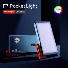 Falcon Eyes 12W RGB светодиодный карманный мини-светильник для камеры с режимом спецэффектов портативный для видео/фото/фотосъемки продуктов F7