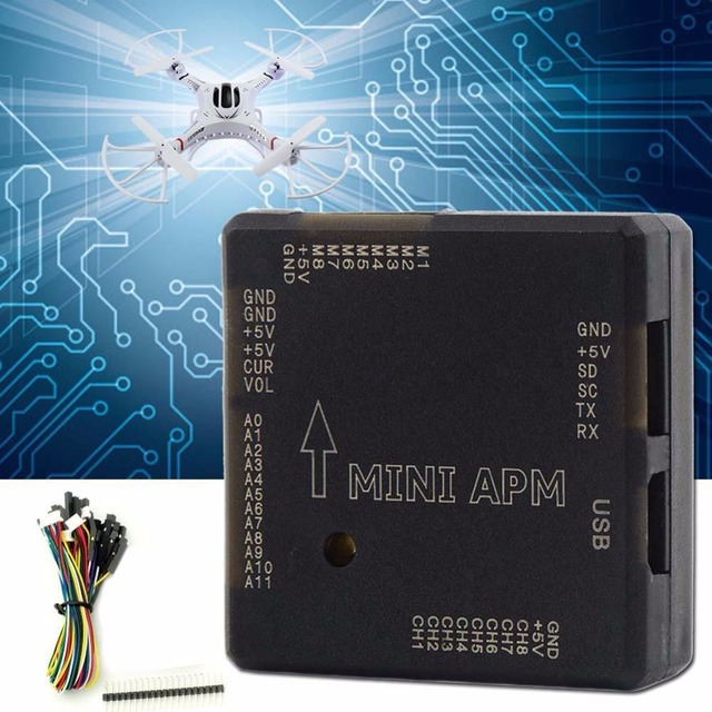 Mini APM V3.1 Flight Controller Für ArduPilot Mega Externe Kompass GPS APM