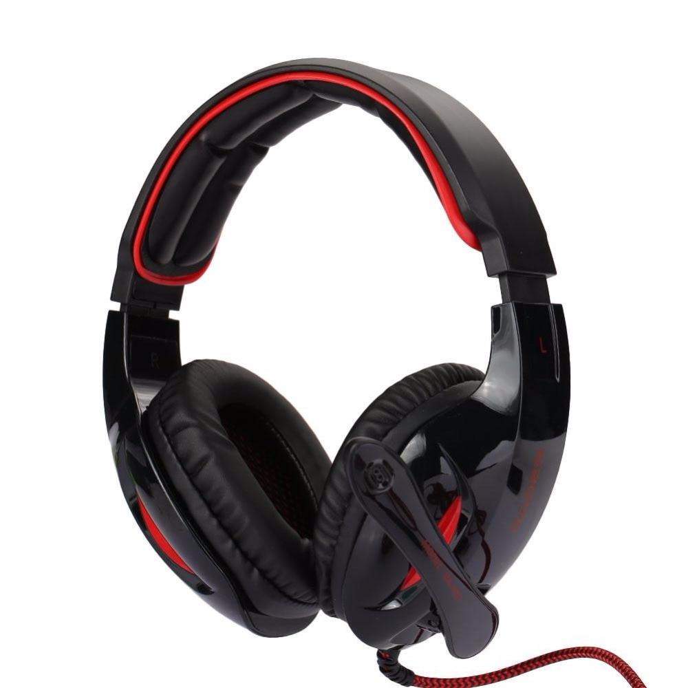 SADES SA902 3m USB Wired 7.1 Surround Sound Effect Headphone Gaming Headset Professional Music HiFi Gaming headphone earphone