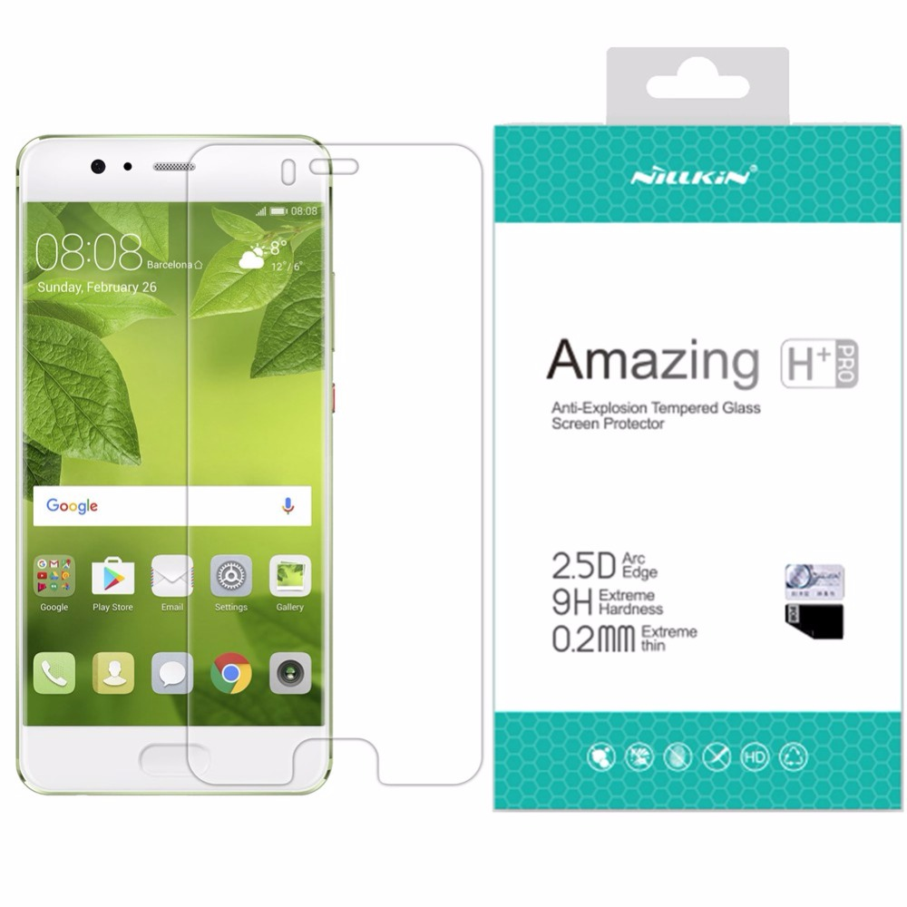 Nillkin for Huawei P10 9H Amazing H / H+ Pro 5.1 inch Anti-Explision Tempered Glass Screen Protector For Huawei P10 Nilkin Glass